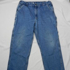 Carhartt Size 40 Men's Jeans Blue Original Fit
